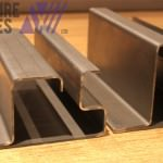 Complicated folded of metal parts