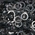 Large production of mild steel laser cut parts
