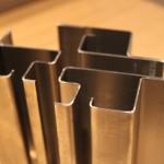 Complicated metal folding