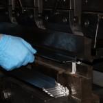 Press Brake operator folding metal parts