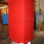 Mild steel containers for offshore industry and renewable energy industries