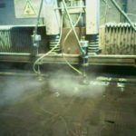 Twin Head Waterjet cutting