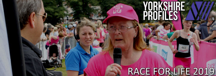 Race For Life header